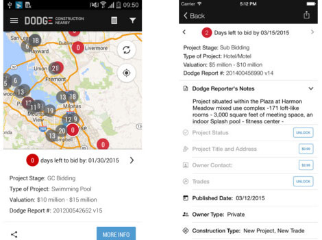 Download Construction Nearby App