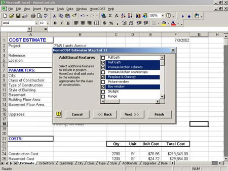 Download HomeCOST Estimator Software for Excel for FREE