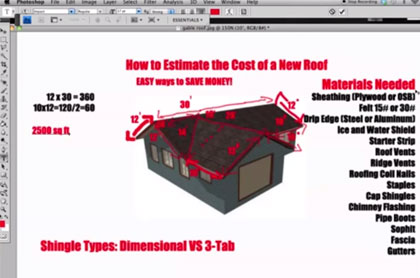 Construction Estimator: How to Estimate the Cost of a New Roof