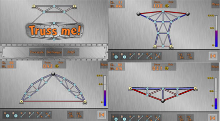 Truss Me App for Mechanical and Civil Engineers - Learn to Design Truss Structures